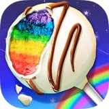 A super fun food-making game Make yummy rainbow foods Three kinds of rainbow foods to make: rainbow cake pop, rainbow cupcake and rainbow slushy Tons of realistic cooking tools to play: spatula, juice dispenser, freezer, ice cube mold, ice crusher, f...
