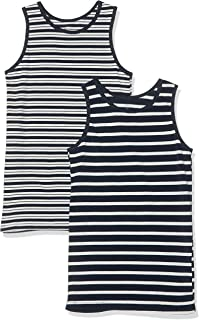NAME IT Camiseta sin Mangas (Pack de 2) para Niños
