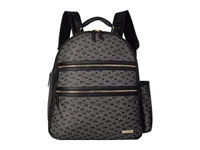 Skip Hop DECO Saffiano Diaper Backpack (Black) Backpack Bags