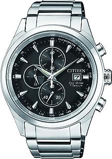 Citizen Eco-Drive Mens Super Titanium Chronograph Watch CA0650-82F
