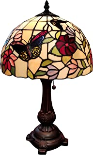 Tiffany Style Table Lamp Banker 19