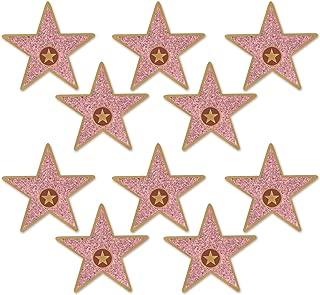 Beistle 58048 Mini Star Cutouts, 5, Multicolor (Value 3-Pack)