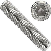 OPIOL KWALITY   Schroefdraadpennen met binnenzeskant en kegelkop DIN 913 roestvrij staal A2 (10 stuks)   Schroefdraadschro...