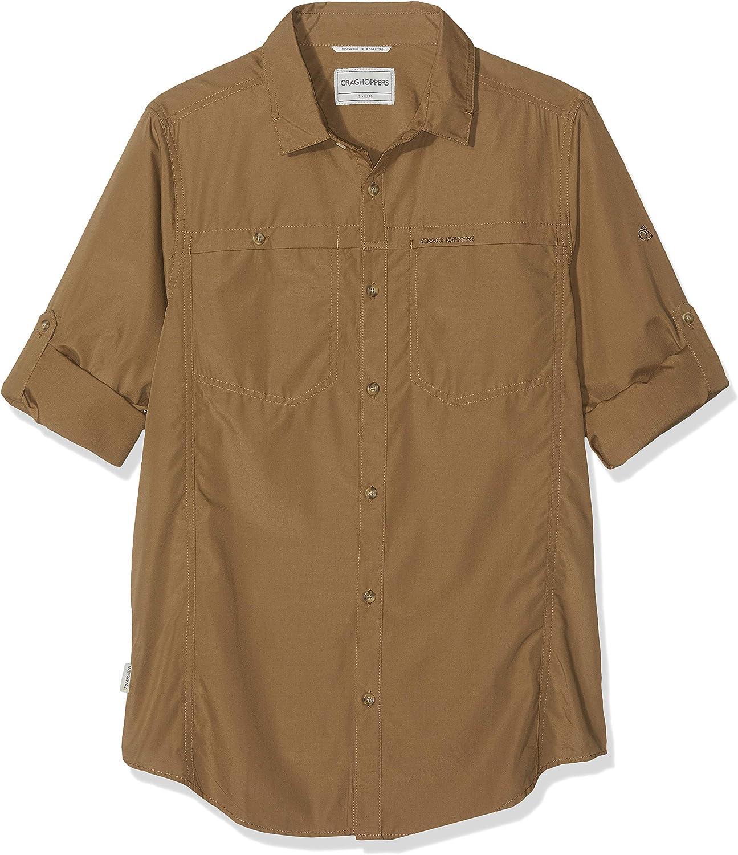 Craghoppers Kiwi Trek Long Sleeve Camisa Hombre