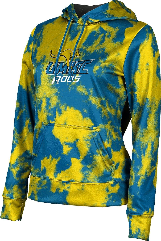 ProSphere University of Missouri-Kansas City Girls' Pullover Hoodie, School Spirit Sweatshirt (Grunge)