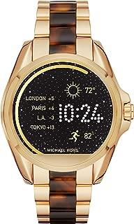 Michael Kors Access Unisex 45mm Goldtone and Acetate Bradshaw Touchscreen Smartwatch
