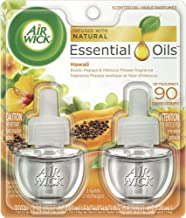 Air Wick Scented Oils Limited Edition National Park Series Twin Refill, Hawai'i Kaloko - Honokohau Tropical Sunset, 2 ea, ...