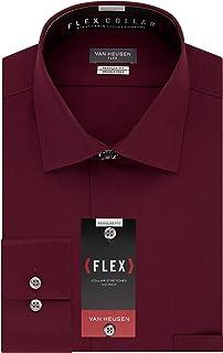 Van Heusen Men's Dress Shirt Flex Regular Fit Solid,...