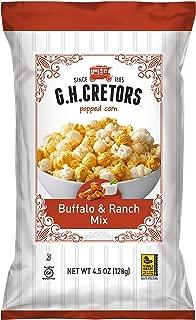 G.H. Cretors Buffalo & Ranch Mix, 4.5 Ounce Bags (Pack of 12)