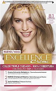 L'Oreal Paris Excellence Creme Tinte Permanente Tono 8.1 Rubio Claro Ceniza