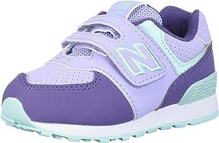 New Balance Kid's 574 V1 Winter Hook and Loop Sneaker