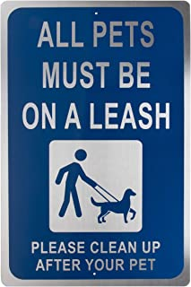 Best please keep your dog on a leash sign Reviews