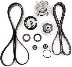 SCITOO for 98 99 00 01 02 03 04 Volkswagen Beetle/99 00 01 02 03 04 Volkswagen Jetta,Replaceable Timing Belt kit Including Timing Belt Water Pump with Gasket tensioner Bearing etc
