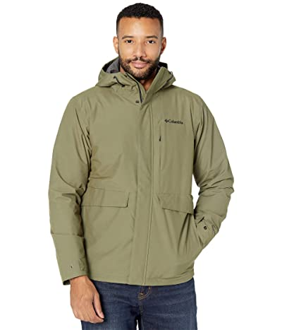 Columbia Firwoodtm Jacket (Stone Green/Black Heather) Men