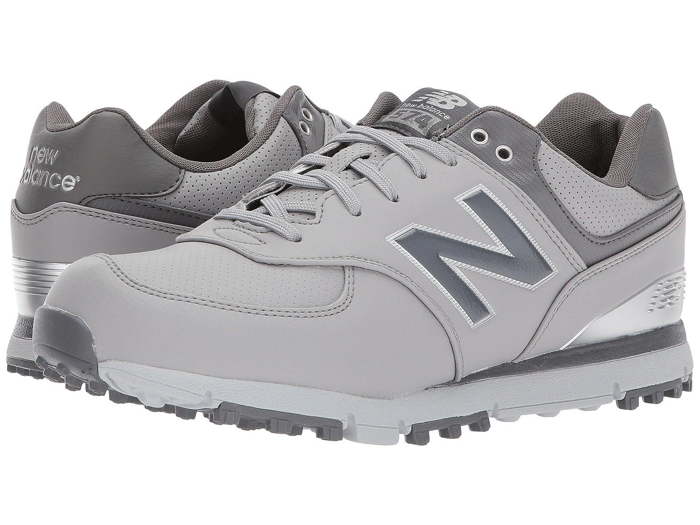(ニューバランス) New Balance メンズゴルフシューズ?靴 NBG574 SL Grey/Silver 12 (30cm) D - Medium