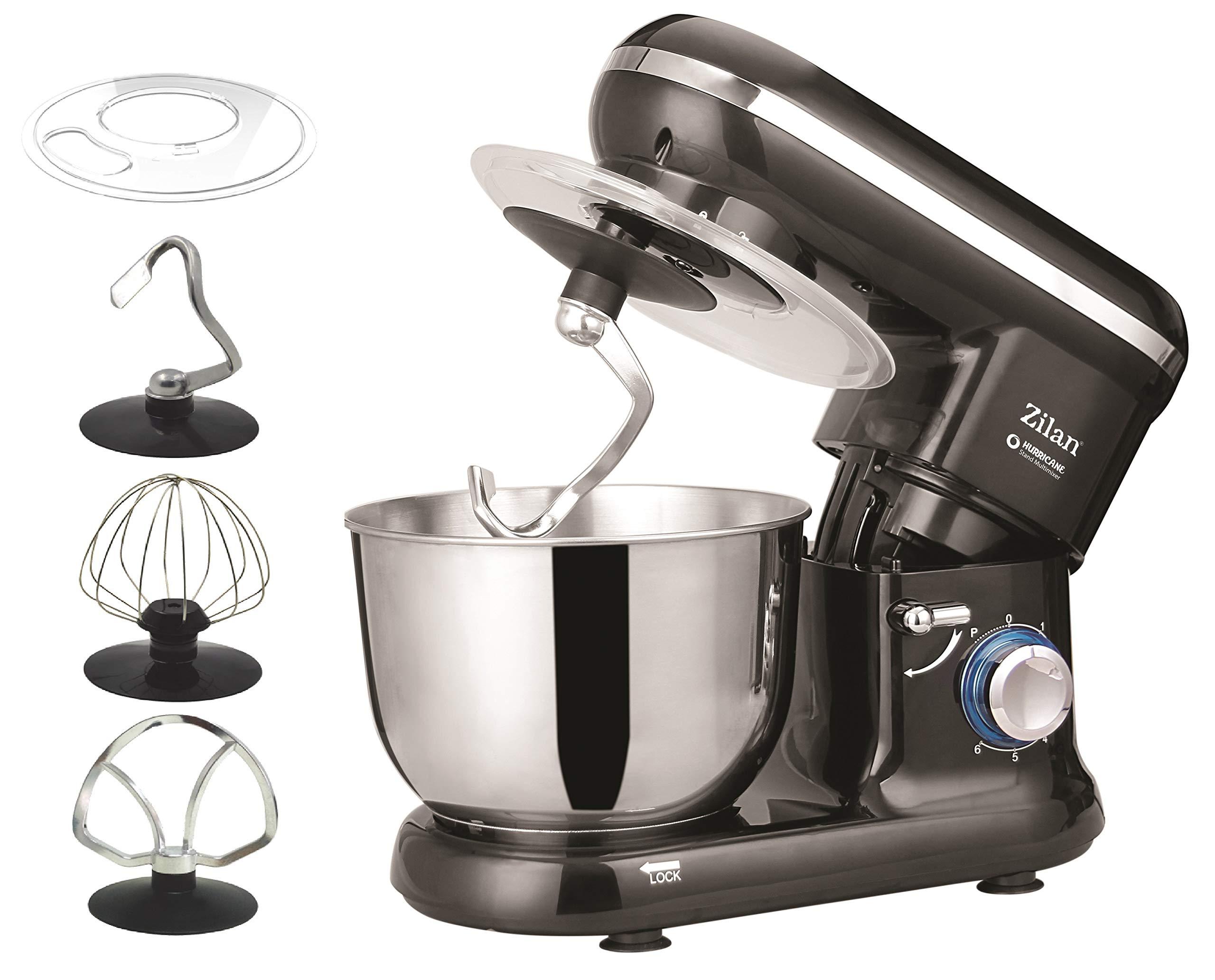 Robot de cocina | amasadora | Masa eléctrica | – Amasadora, amasadora de masa, 1500 W, 6 niveles de velocidad, función de pulso | 4,5 litros |: Amazon.es: Hogar