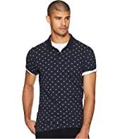Classic Garment-Dyed Polo w/ All Over Print