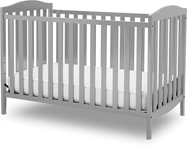 Delta Children Capri 3 In 1 Convertible Baby Crib Grey