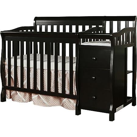 Harbor 4-in-1 Convertible Mini Crib Dream On Me Storm Grey