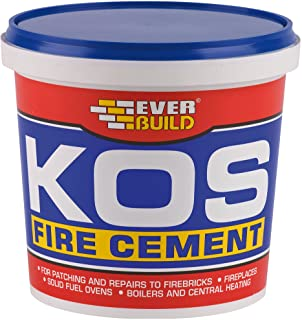 Everbuild KOS Fire Cement, Black, 2 kg