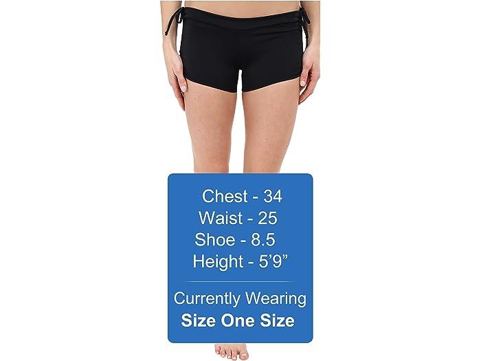 Onzie Side String Shorts Black