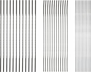 SKIL 80182 Plain End Scroll Saw Blade Set, 36 Piece