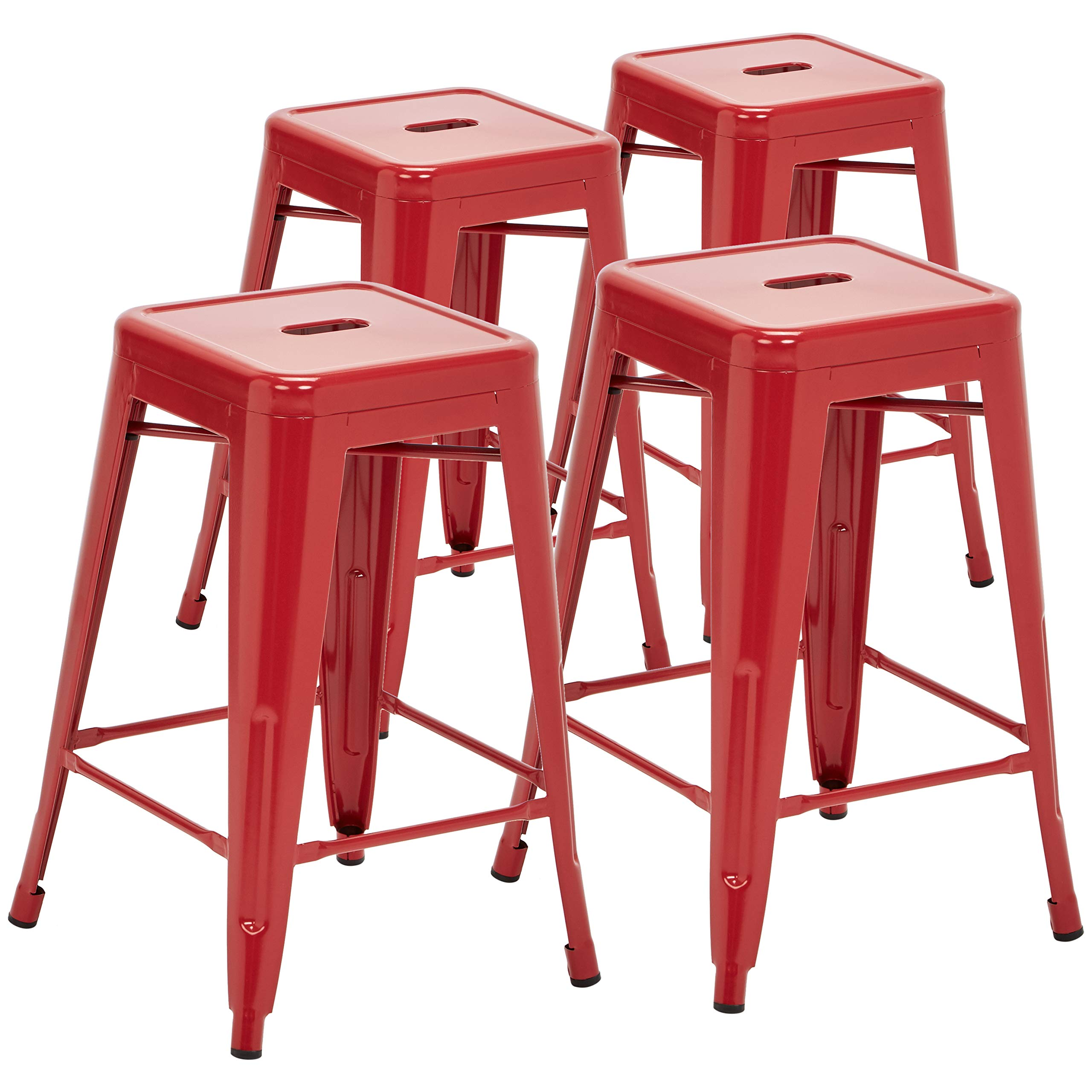 Prime Sprogs Tolix Style Square Metal Stool 12 H Orange Spg Lamtechconsult Wood Chair Design Ideas Lamtechconsultcom