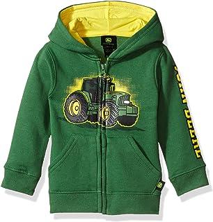 Tractor Infant Toddler Boy Zip Front Fleece Hoody Sweatshirt