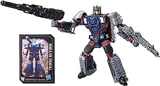 Transformers Generations Titans Return Decepticon Quake and Chasm
