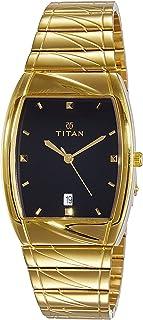 Titan Karishma Analog Black Dial Men's Watch -NK9315YM03