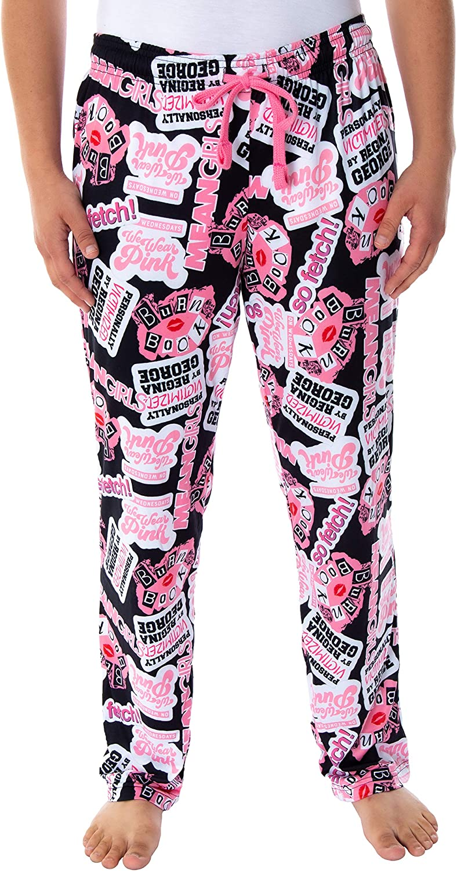 Mean Girls Womens' Burn Book Sleep Lounge Pajama Pants