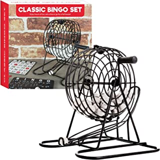 Shine Juego de Bingo clásico Adecuado para Jugar con la Familia o Amigos Juego
