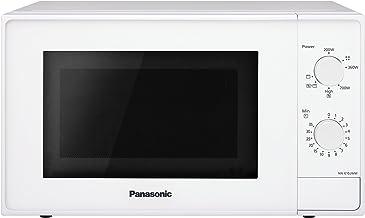 Panasonic NN-K10JWMEPG | Four Micro-ondes Gril 2 en 1 , 20 L, Puissance Micro onde 800 W, Gril Quartz 1100 W, Plateau tour...