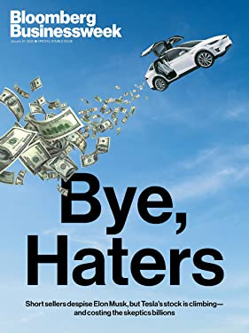 Bloomberg Businessweek Magazine (January 27, 2020) Bye, Haters: Short Sellers Despise Elon Musk, But Tesla's Stock is Climbing