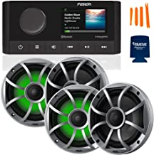 $829 » Sponsored Ad - Fusion MS-RA210 Marine AM/FM/BT/NEMA2000/SiriusXM Ready Stereo with 2 Pair Wet Sounds RECON6-S-RGB High Out...