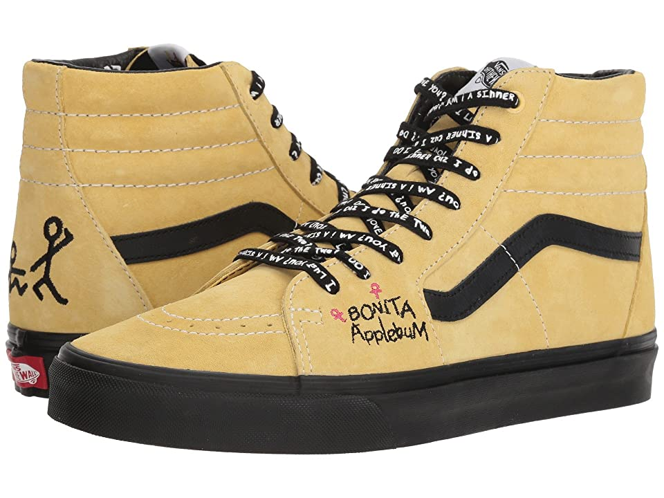 Vans SK8-Hi X A Tribe Called Quest Collab. (Mellow Yellow/Spectra Yellow) Skate Shoes