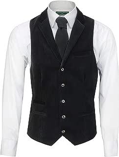 Mens Soft Corduroy Blazer Coat Vintage Retro Tailored Suit Jacket or Waistcoat