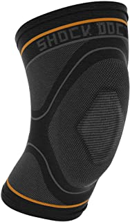 Knee Compression Sleeve: Shock Doctor's Knee Support Sleeve - Relieves Arthritis Pain, Tendonitis, and Patella Alignment I...
