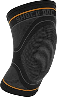 Knee Compression Sleeve: Shock Doctor's Knee Support Sleeve - Relieves Arthritis Pain, Tendonitis, and Patella Alignment Injuries for Men & Women - Includes 1 Sleeve (1 unit)
