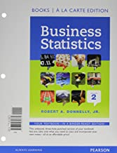 Business Statistics, Student Value Edition (2nd Edition)