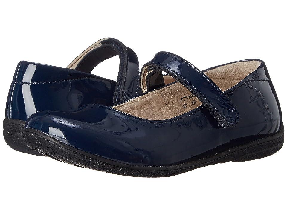 Umi Kids Ria (Toddler/Little Kid/Big Kid) (Dark Navy Patent) Girls Shoes
