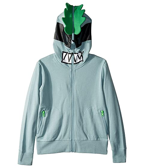 Stella McCartney Kids Face Zipped Hoodie (Toddler/Little Kids/Big Kids)