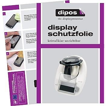 dipos I 2X Protector de Pantalla para Vorwerk Thermomix TM6 pelicula Protectora Claro: Amazon.es: Electrónica