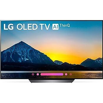 LG Electronics OLED55B8PUA 55-Inch 4K Ultra HD Smart OLED TV (2018 Model) (Renewed)