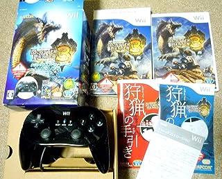 モンスターハンター3(トライ) クラシックコントローラPRO【クロ】パック(特典無し) - Wii