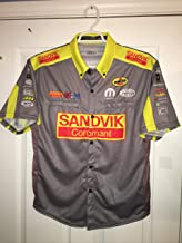 Authentic DSR Matt Hagan SANDVIK COROMANT MOPAR NHRA Schumacher Crew Shirt Drag Starting Line Funny Car