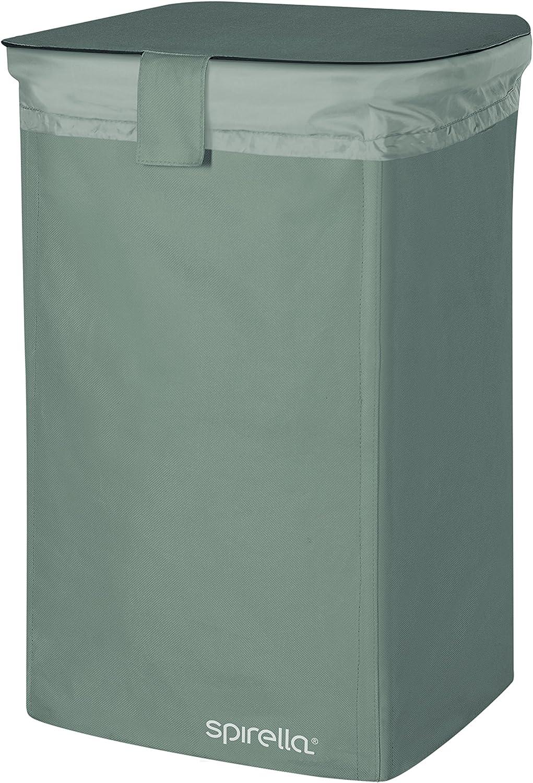 Cesto para la Colada Beige 75 litros 100/% Polyester 60 x 40 x 40 Spirella colecci/ón Funwash