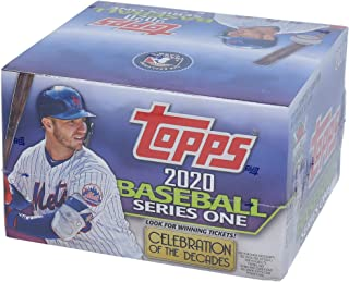 2020 Topps Baseball Series 1 Retail Edition Factory Sealed 24 Pack Box - Fanatics Authentic Certified