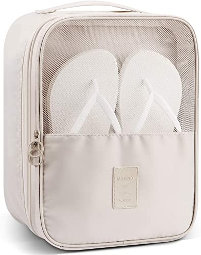 Mossio Shoe Bag Holds 3 Pair of Shoes for Travel and Daily Use Storage Pouch  4.8