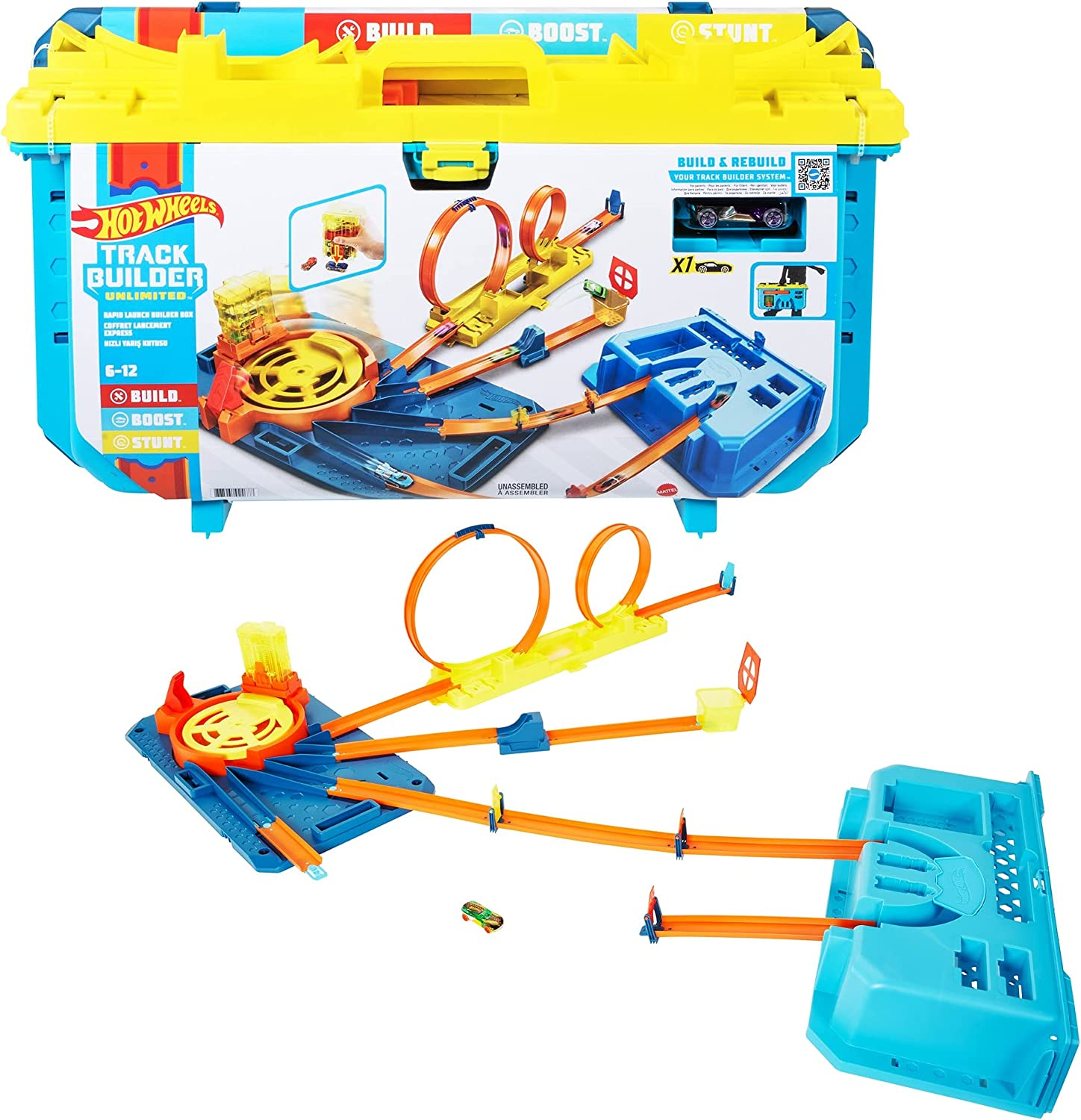 Max 50% OFF Hot Wheels Track Builder Unlimited Sale Special Price Launch Rapid Box All